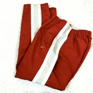 Nike Track Pant Men Snap Breakaway Lined Rip Stop